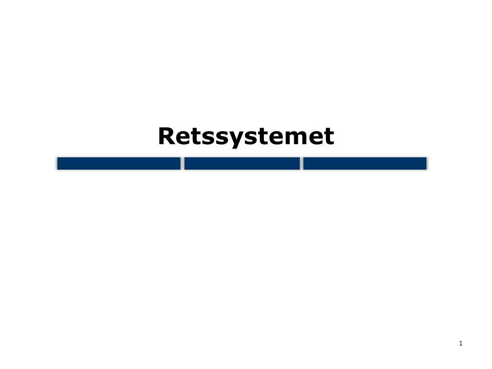 Retssystemet