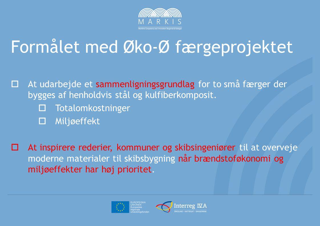 Formålet med Øko-Ø færgeprojektet