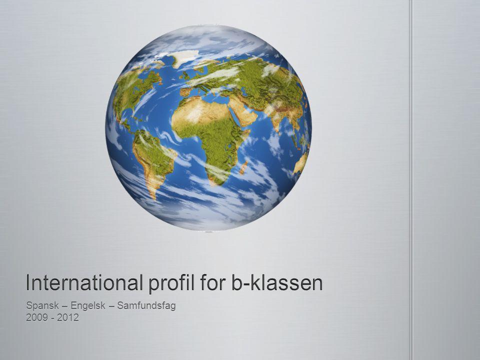 International profil for b-klassen