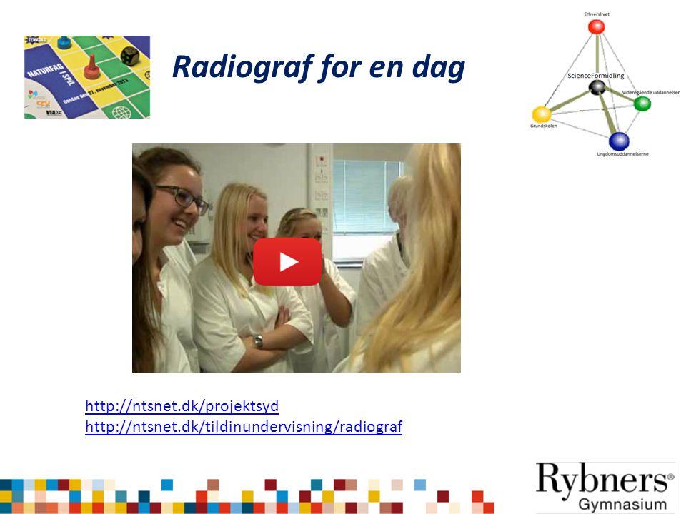 Radiograf for en dag http://ntsnet.dk/projektsyd