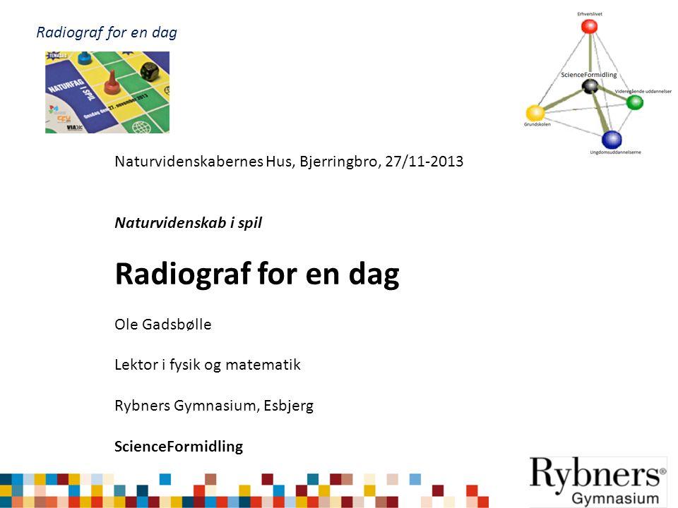 Radiograf for en dag Radiograf for en dag
