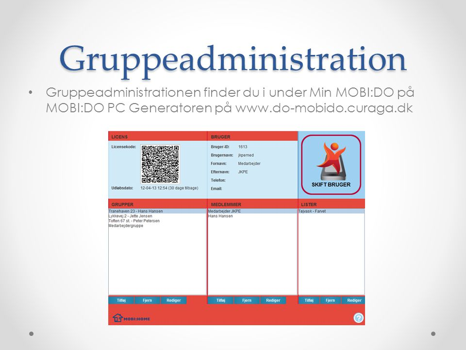 Gruppeadministration