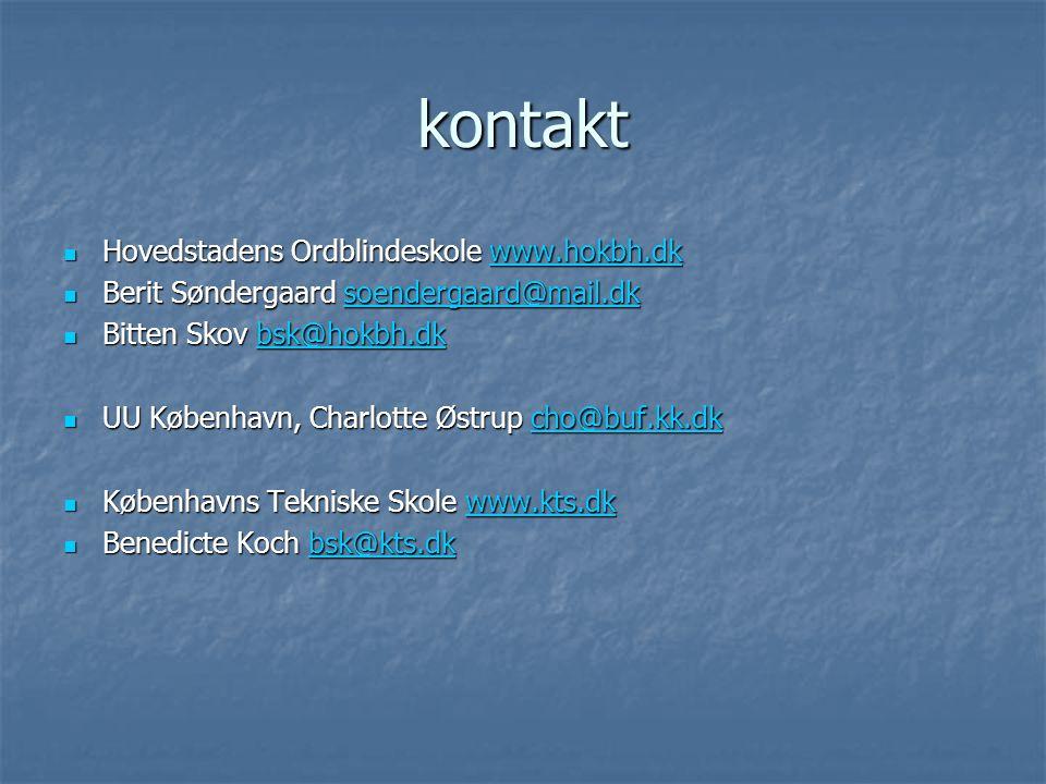 kontakt Hovedstadens Ordblindeskole www.hokbh.dk