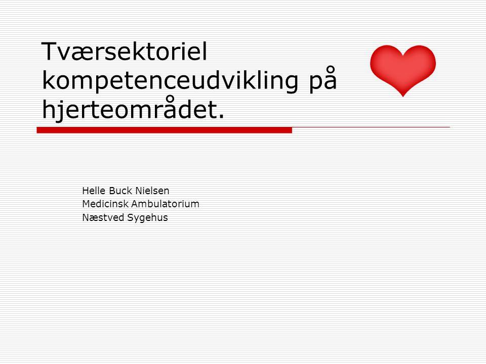 Tværsektoriel kompetenceudvikling på hjerteområdet.