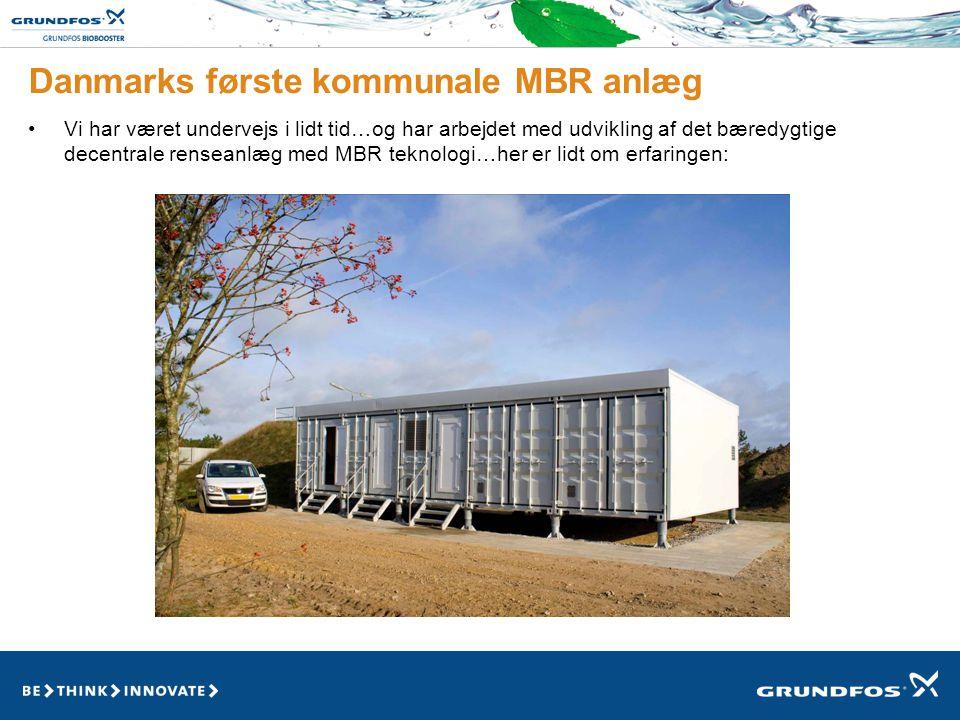 Danmarks første kommunale MBR anlæg