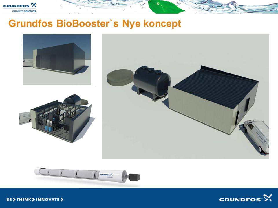Grundfos BioBooster`s Nye koncept