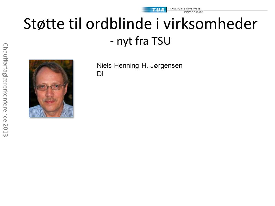 Støtte til ordblinde i virksomheder - nyt fra TSU