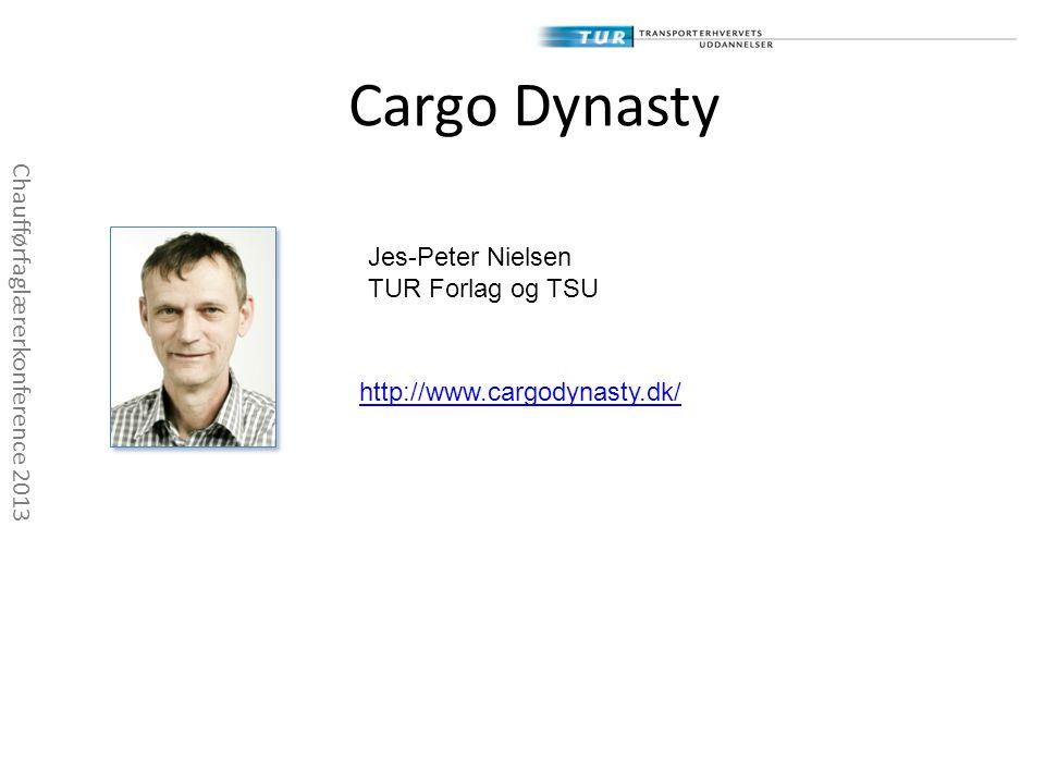Cargo Dynasty Jes-Peter Nielsen Chaufførfaglærerkonference 2013