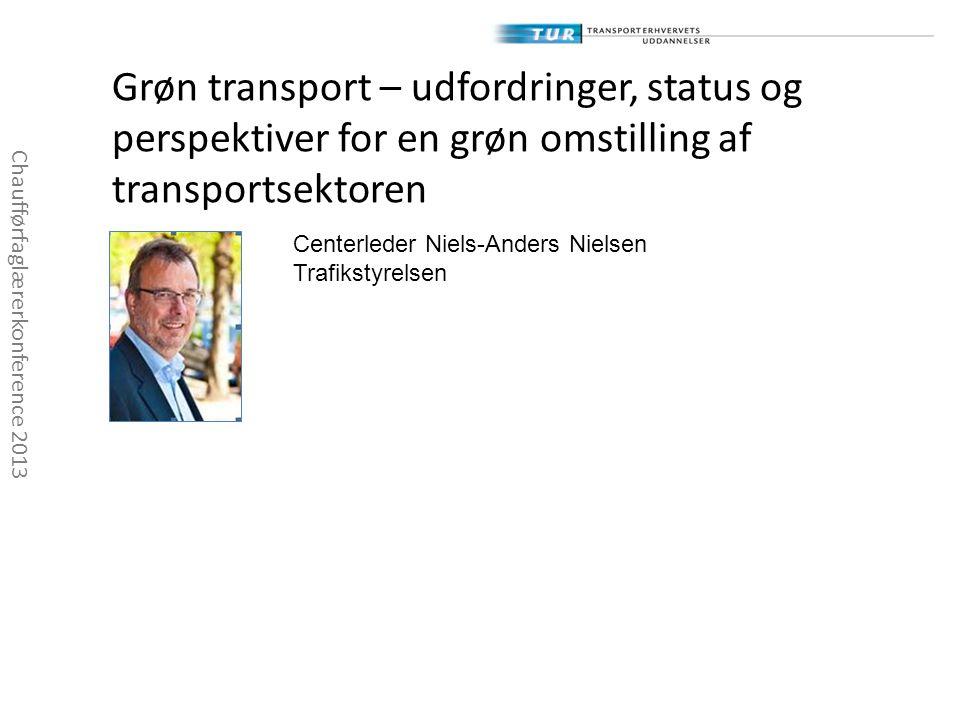 Grøn transport – udfordringer, status og perspektiver for en grøn omstilling af transportsektoren
