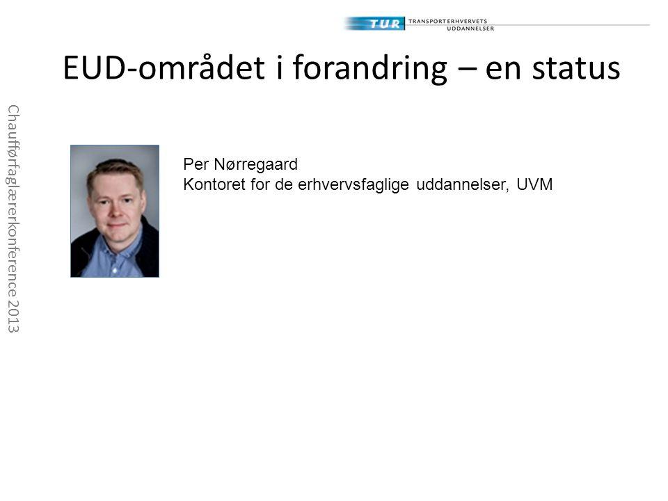 EUD-området i forandring – en status