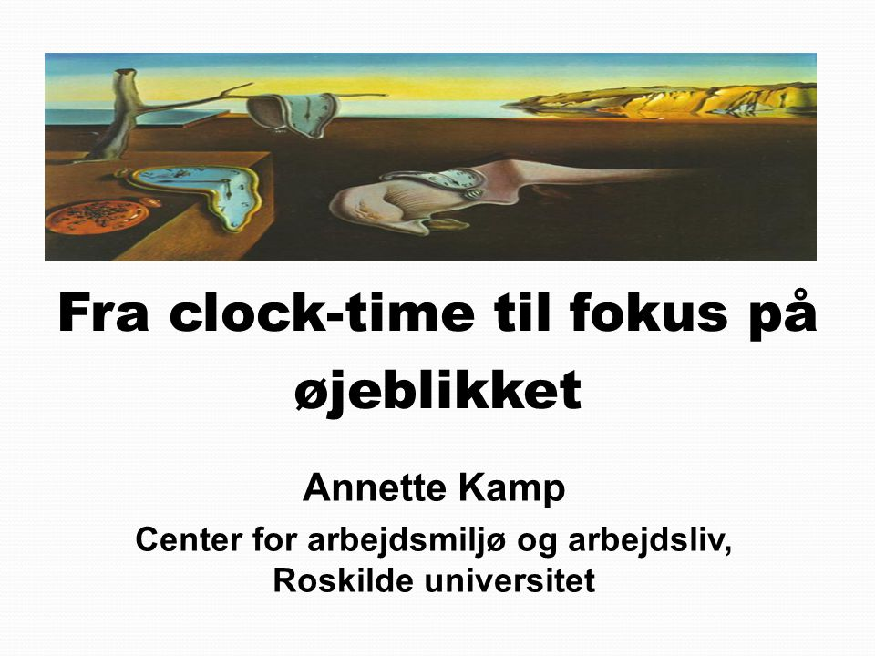 Center for arbejdsmiljø og arbejdsliv, Roskilde universitet