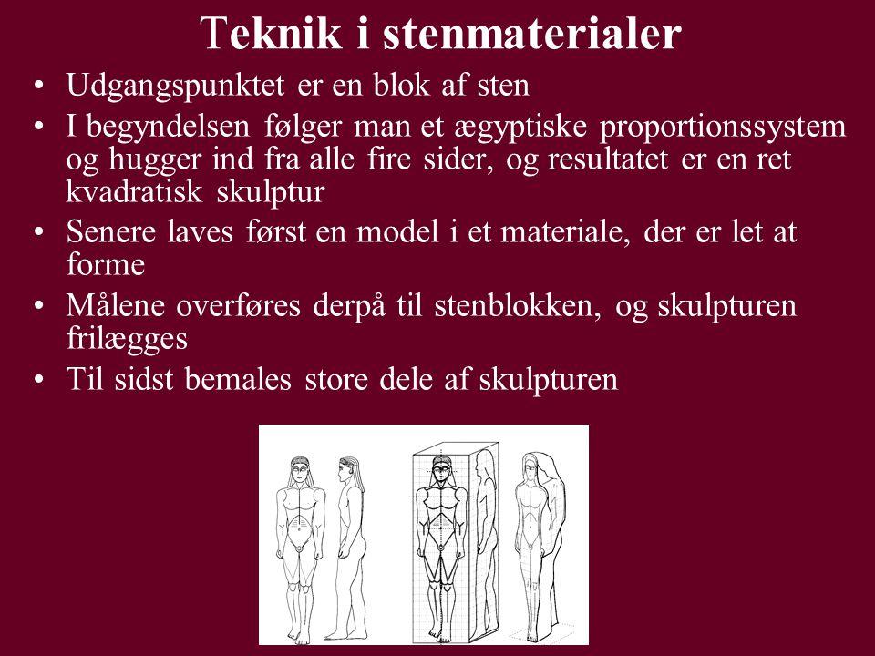 Teknik i stenmaterialer