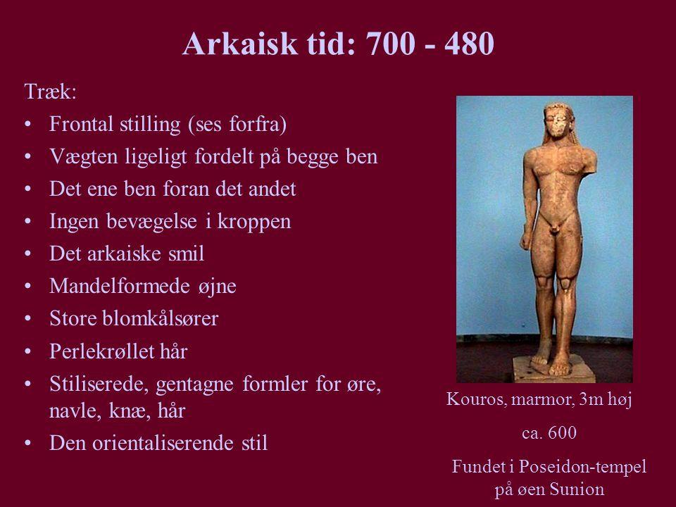 Fundet i Poseidon-tempel på øen Sunion