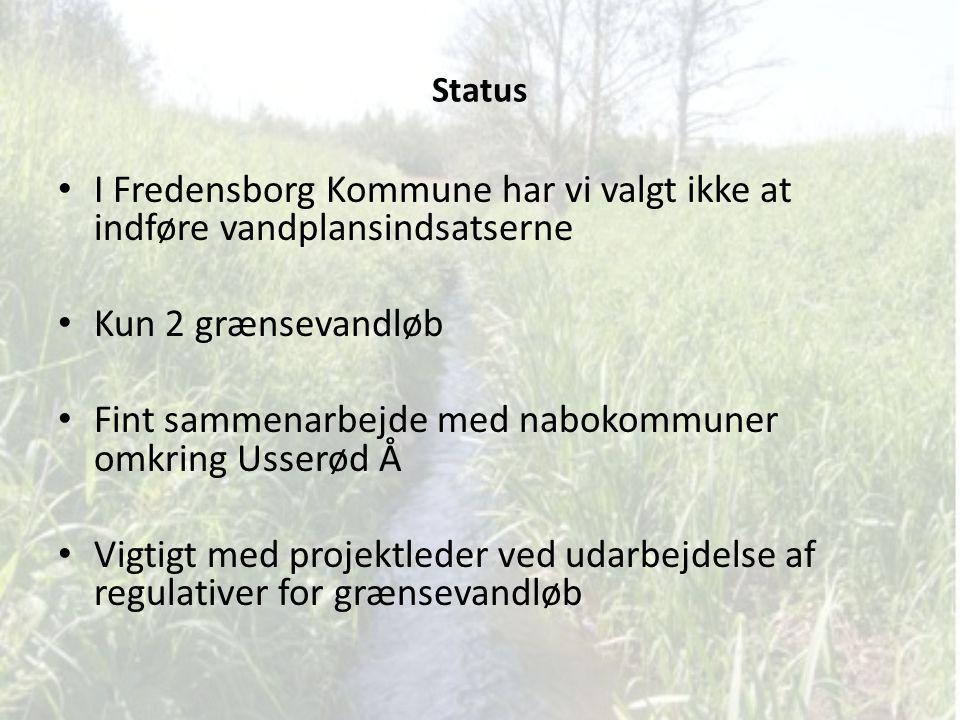 Fint sammenarbejde med nabokommuner omkring Usserød Å