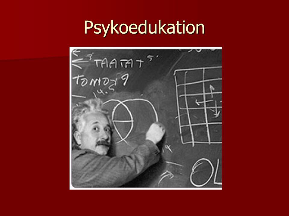Psykoedukation