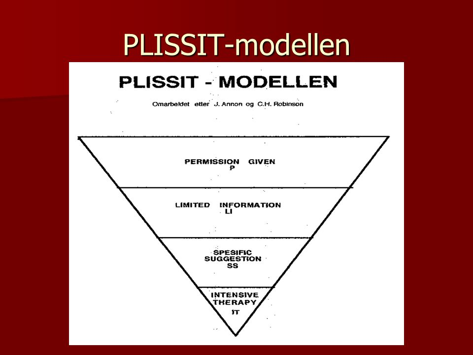 PLISSIT-modellen