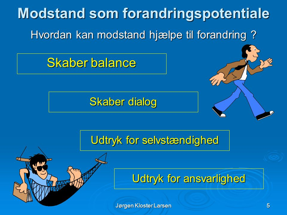 Modstand som forandringspotentiale