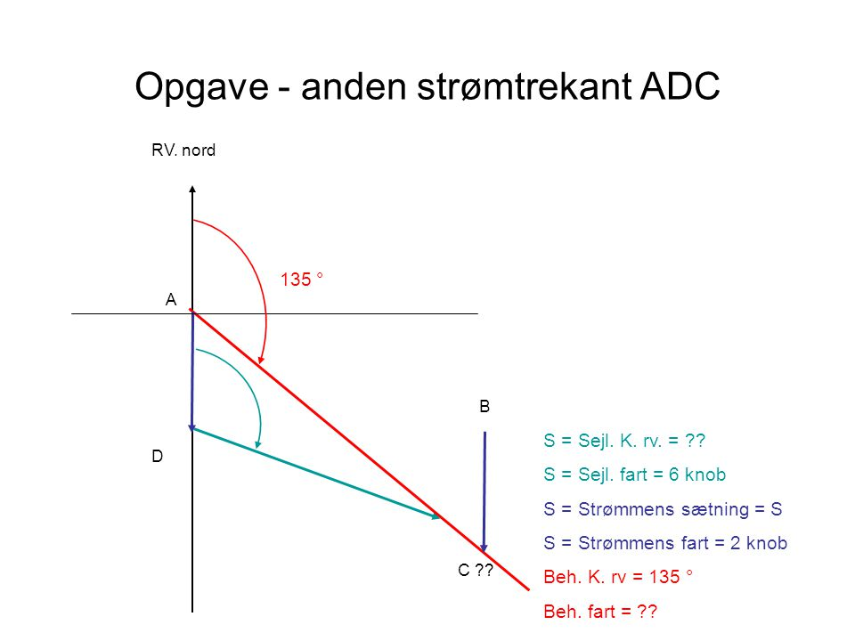 Opgave - anden strømtrekant ADC