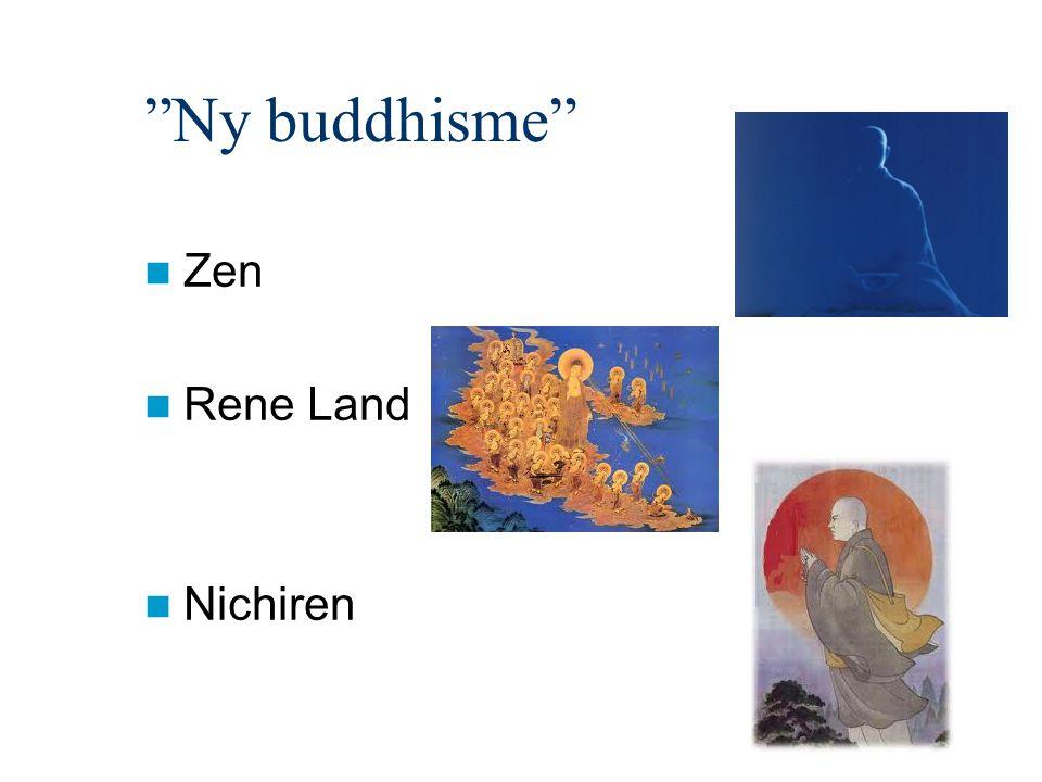 Ny buddhisme Zen Rene Land Nichiren