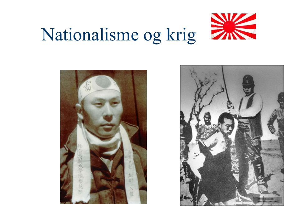Nationalisme og krig