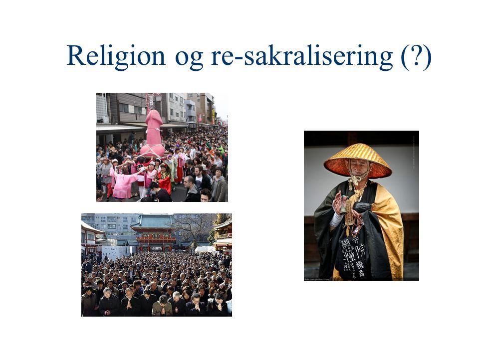 Religion og re-sakralisering ( )