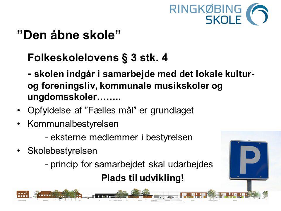 Den åbne skole Folkeskolelovens § 3 stk. 4