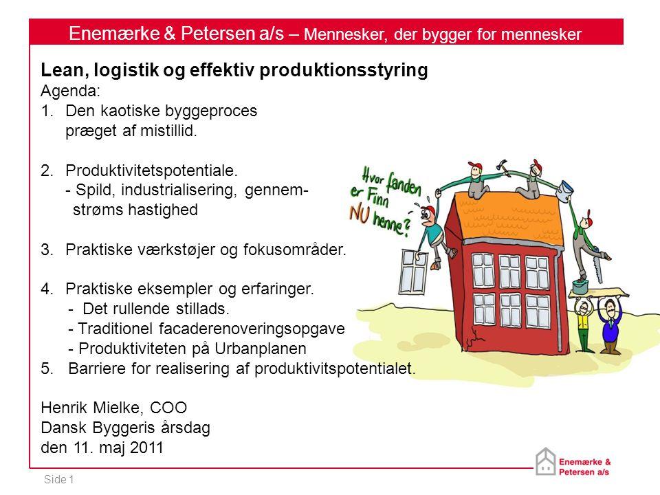Enemærke & Petersen a/s – Mennesker, der bygger for mennesker