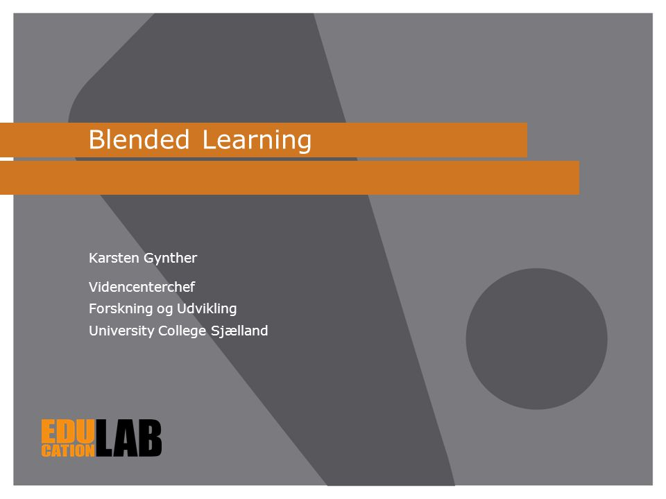 Blended Learning Karsten Gynther