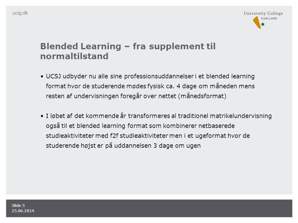 Blended Learning – fra supplement til normaltilstand