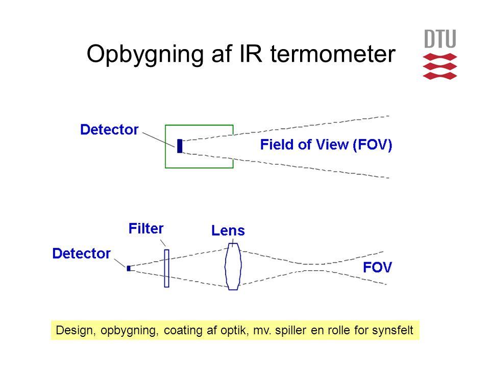 Opbygning af IR termometer