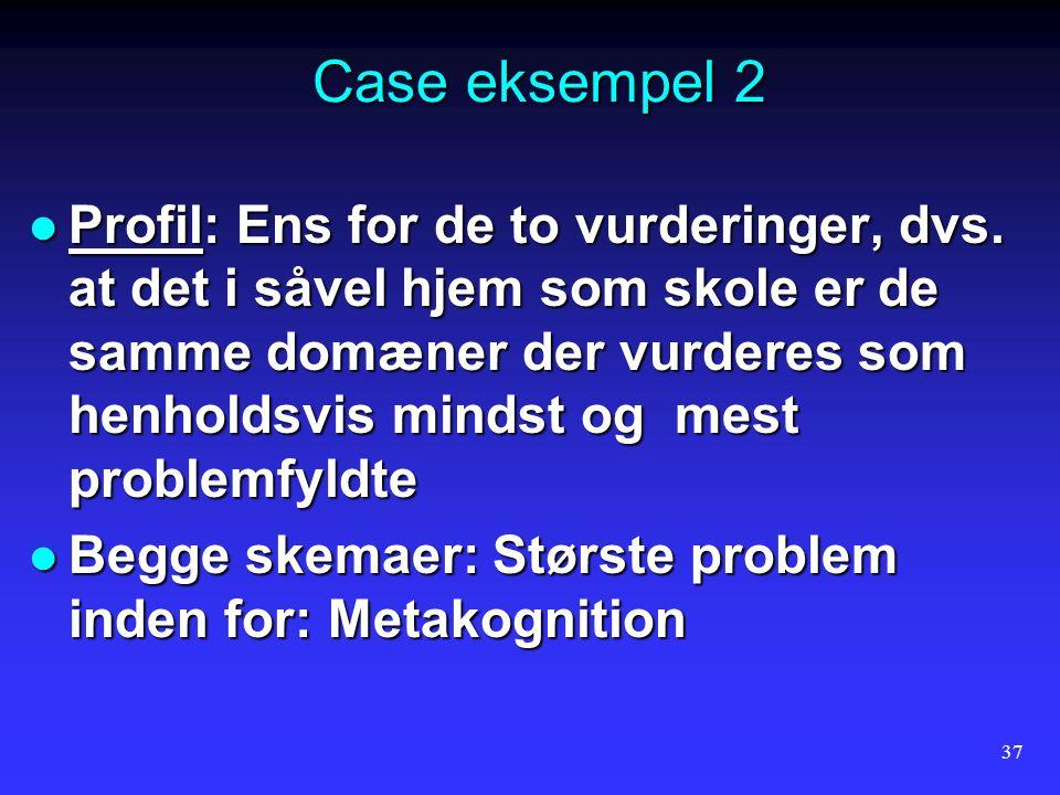 Case eksempel 2