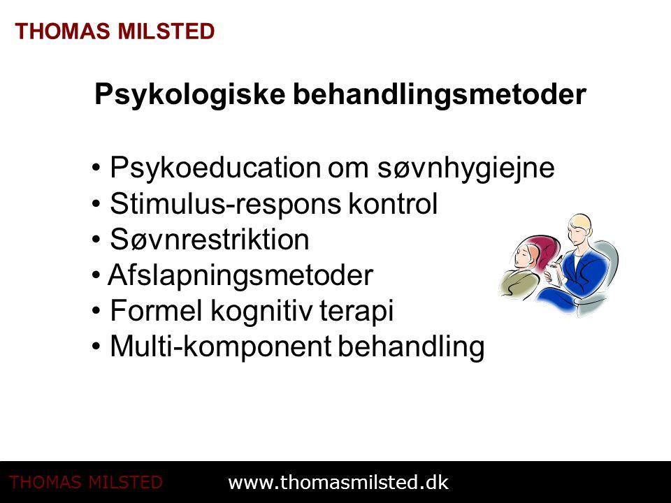 Psykologiske behandlingsmetoder