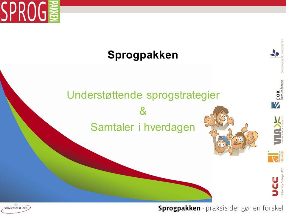 Understøttende sprogstrategier & Samtaler i hverdagen