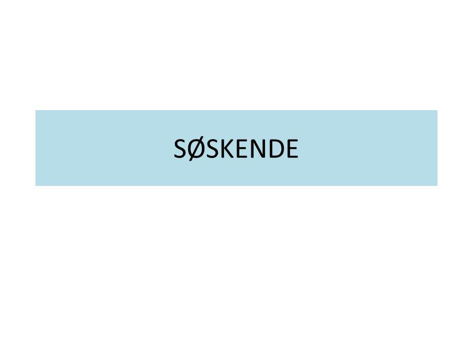 SØSKENDE