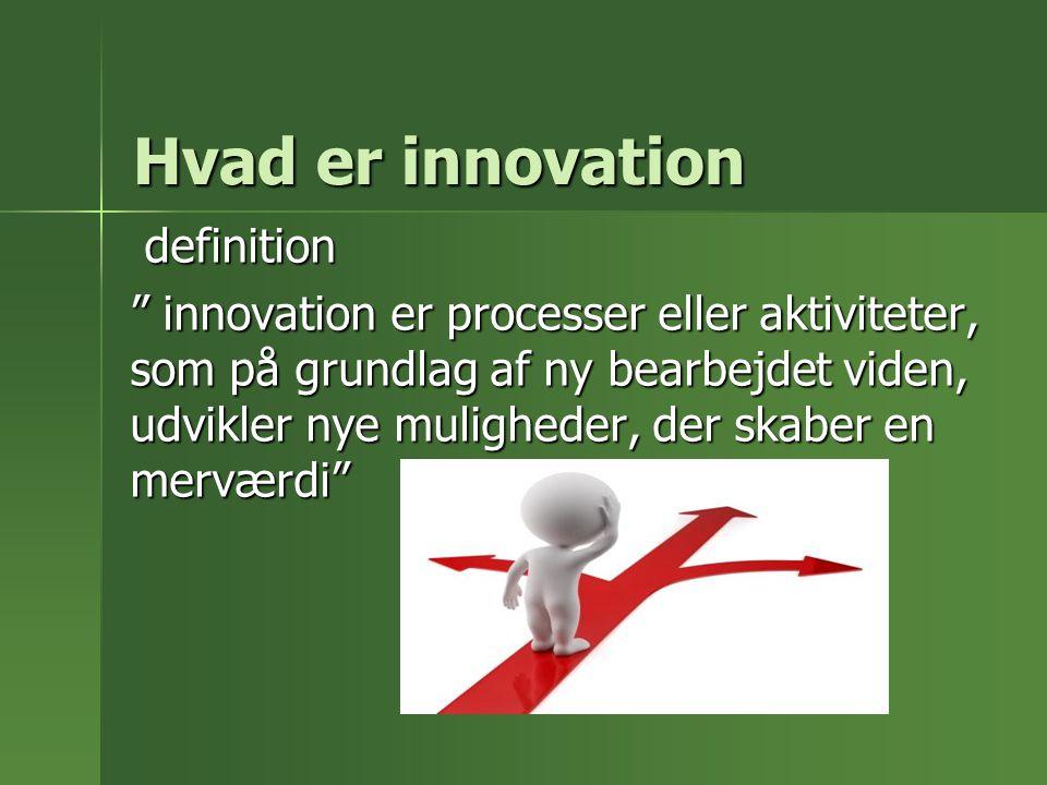 Hvad er innovation definition