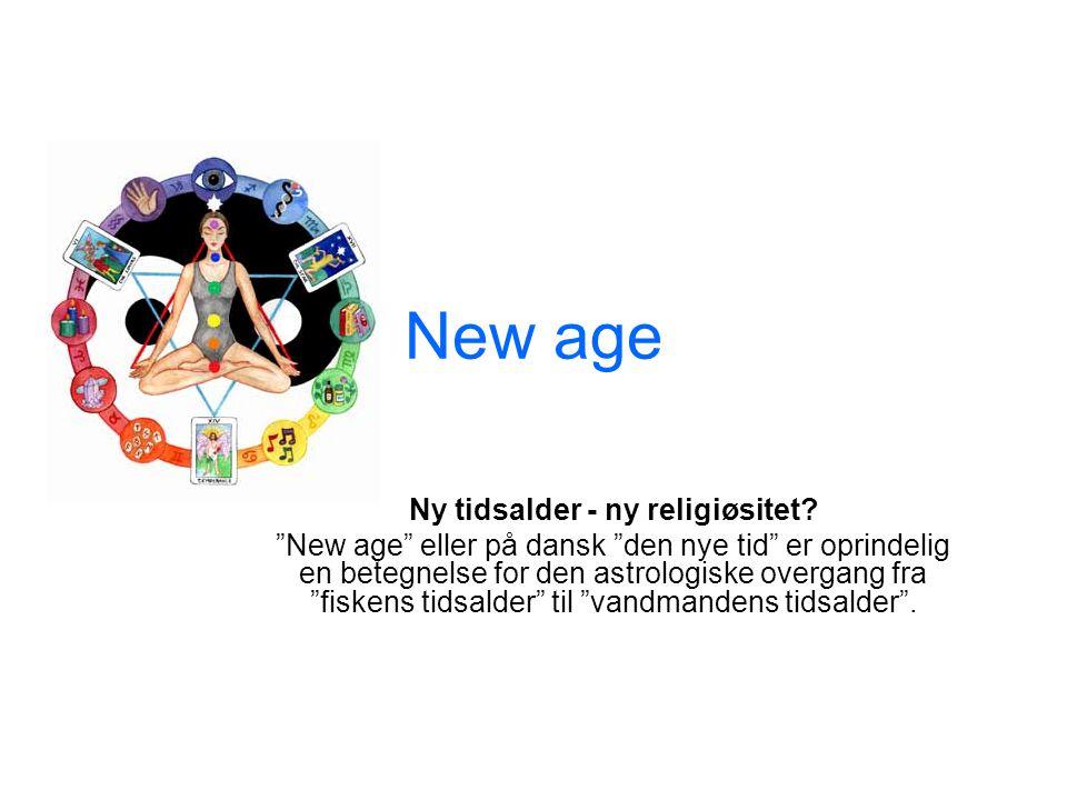 Ny tidsalder - ny religiøsitet