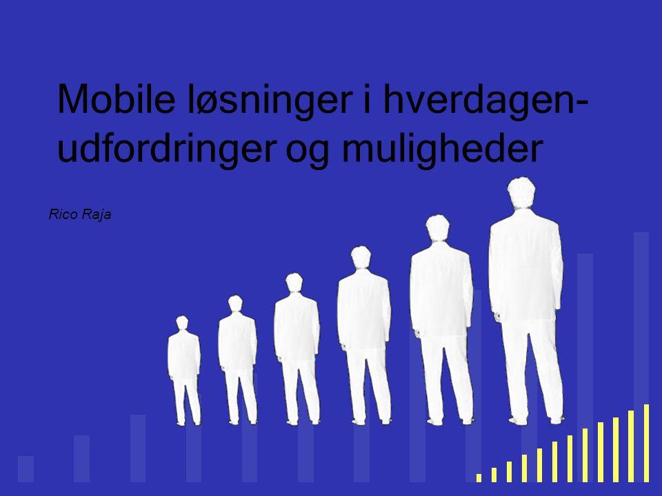 Mobile løsninger i hverdagen-udfordringer og muligheder