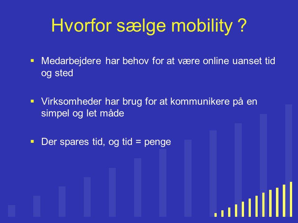 Hvorfor sælge mobility