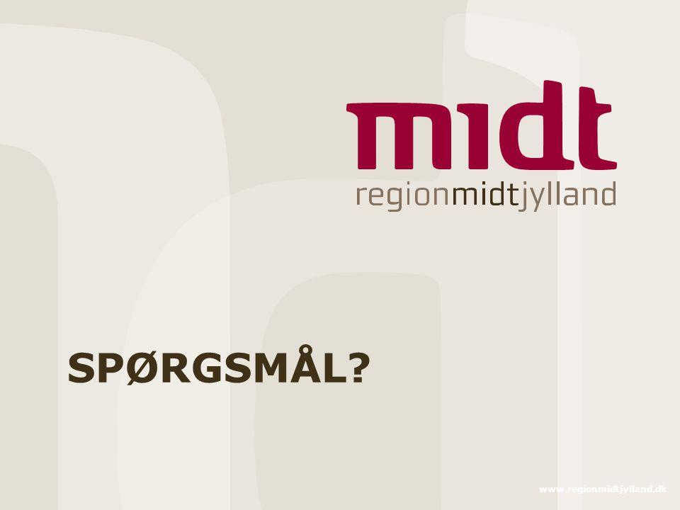 SPØRGSMÅL www.regionmidtjylland.dk