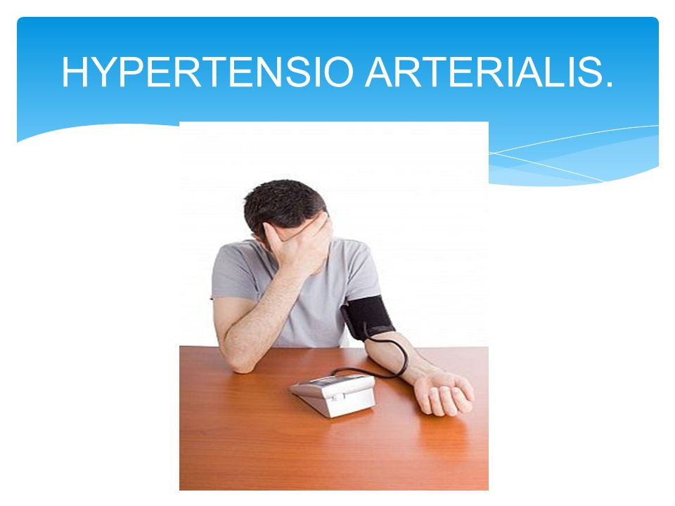 HYPERTENSIO ARTERIALIS.
