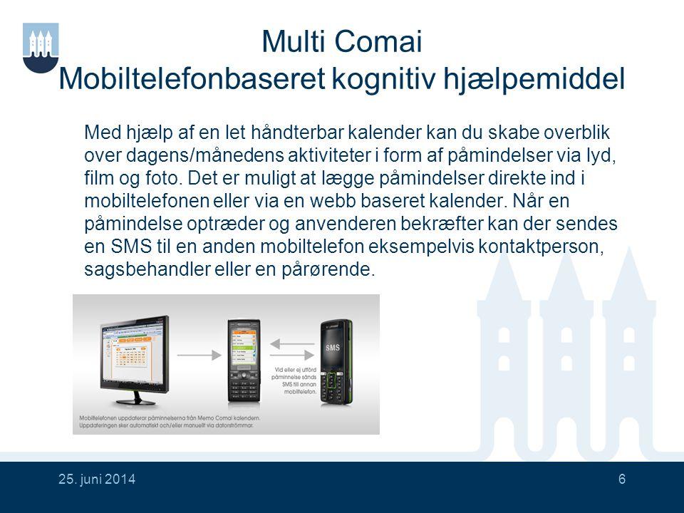 Multi Comai Mobiltelefonbaseret kognitiv hjælpemiddel