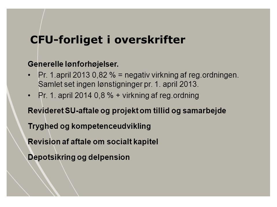 CFU-forliget i overskrifter