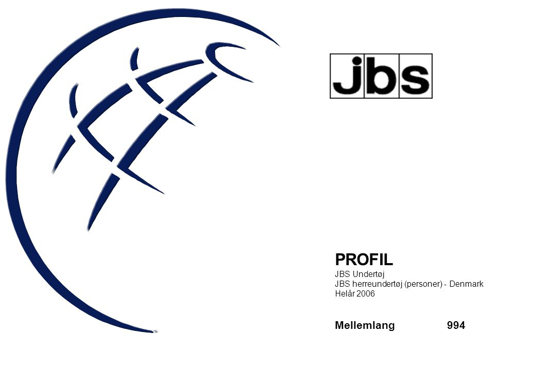 PROFIL Mellemlang 994 JBS Undertøj
