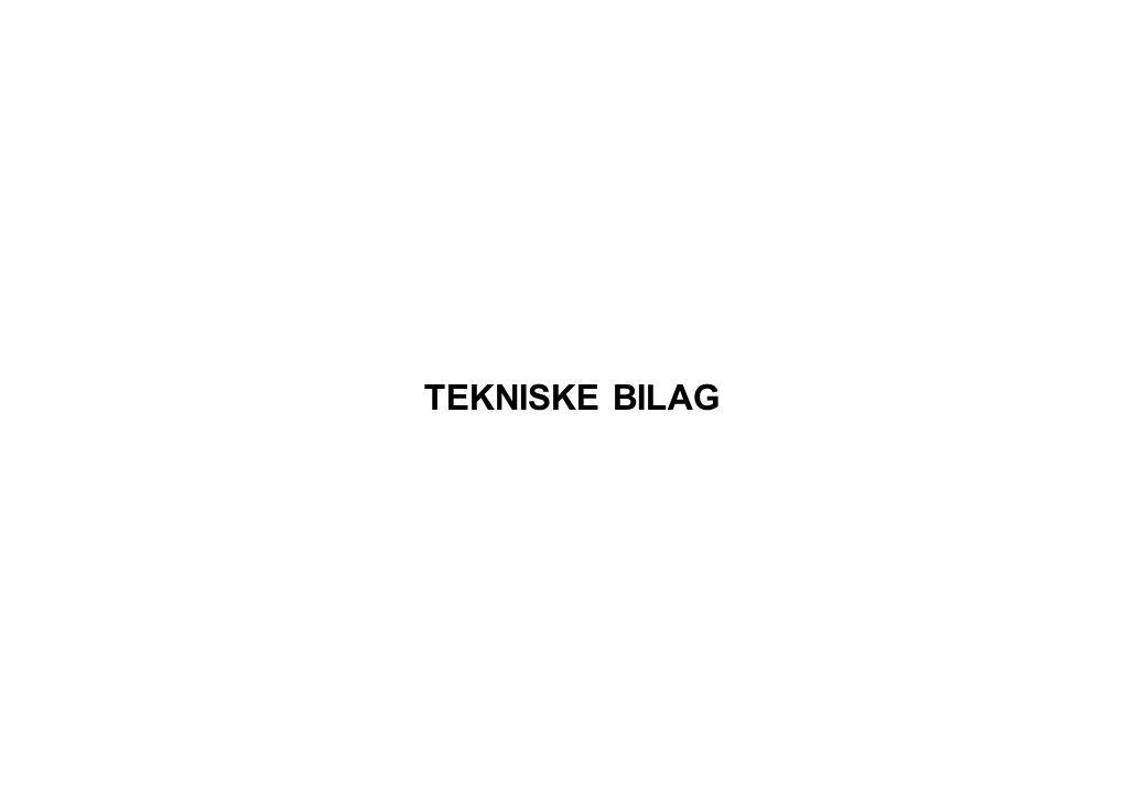 TEKNISKE BILAG