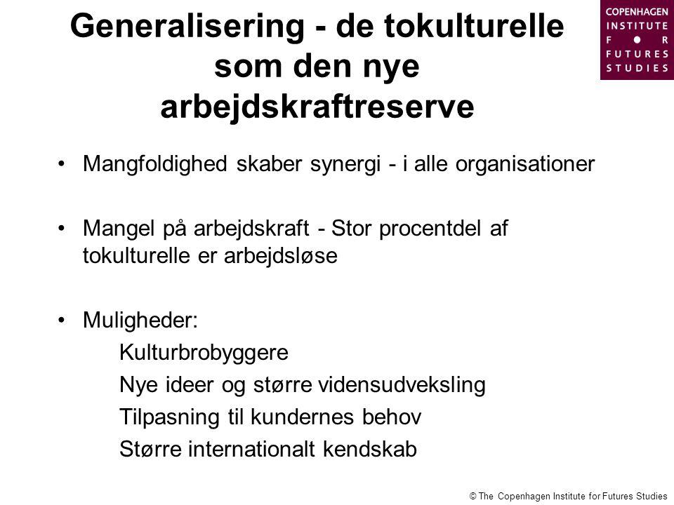 Generalisering - de tokulturelle som den nye arbejdskraftreserve
