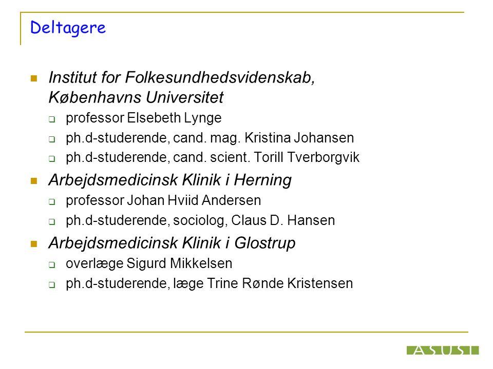 Institut for Folkesundhedsvidenskab, Københavns Universitet