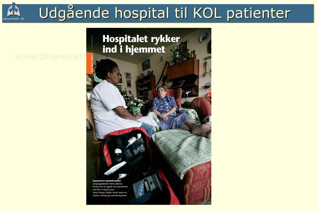 Udgående hospital til KOL patienter