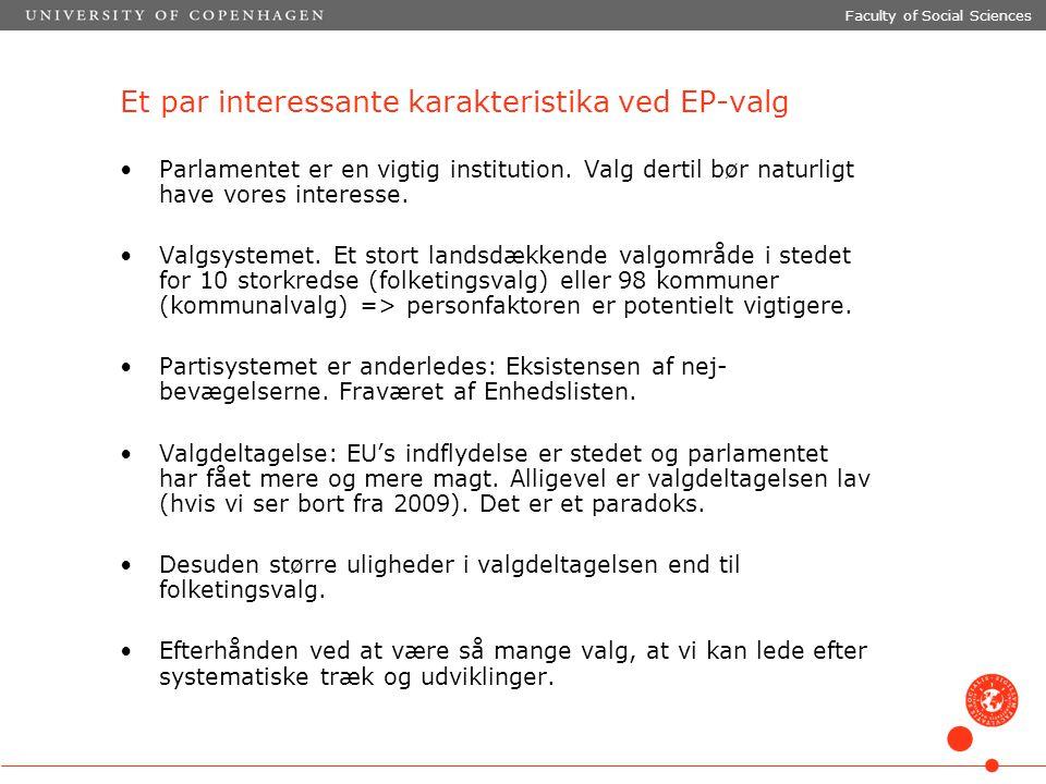 Et par interessante karakteristika ved EP-valg