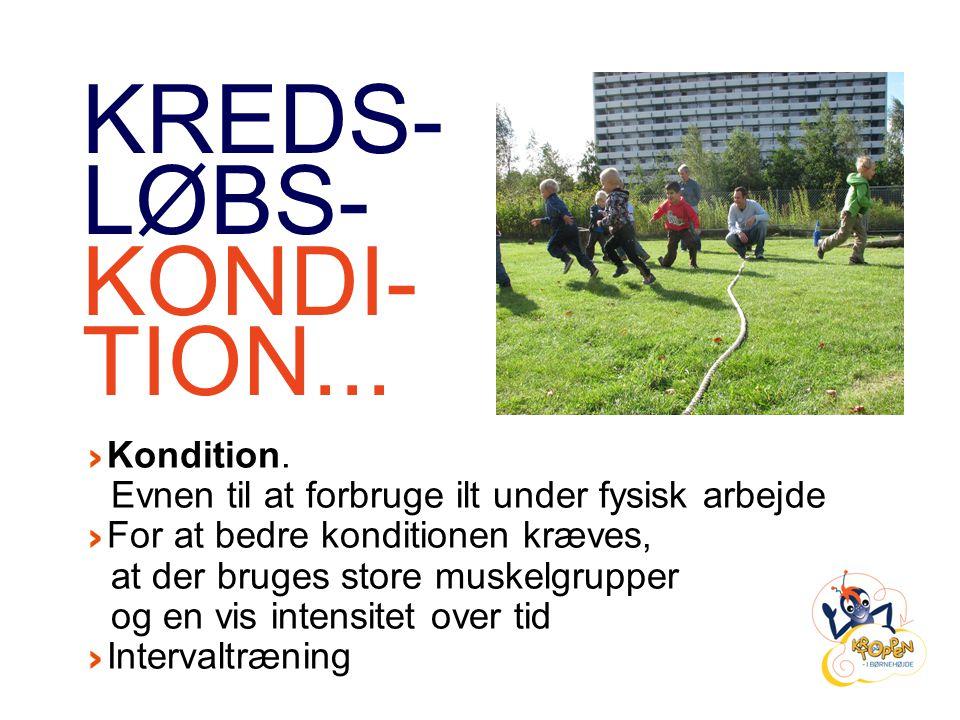 KREDS- LØBS- KONDI- TION...