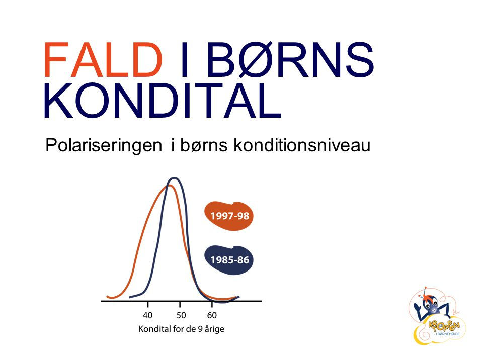 FALD I BØRNS KONDITAL Polariseringen i børns konditionsniveau